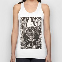 gnome Tank Tops featuring Gnome by Aubree Eisenwinter