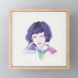 Luma Framed Mini Art Print