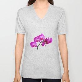 Orchid pink Unisex V-Neck