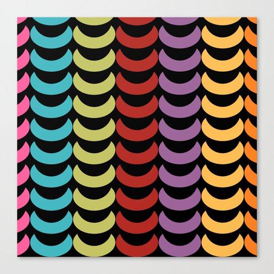 Seamless Geometric Pattern VI Canvas Print