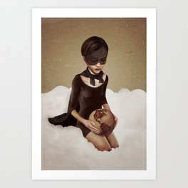 With Great Power Art Print