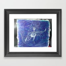 Medussa Framed Art Print