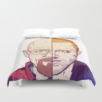 breaking Duvet Covers featuring Breaking Bad by Connick Illustrations