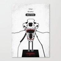 Hannibal - Shiizakana Canvas Print
