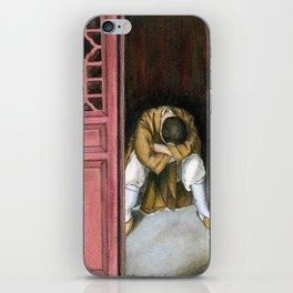 praying chinese monk iPhone Skin
