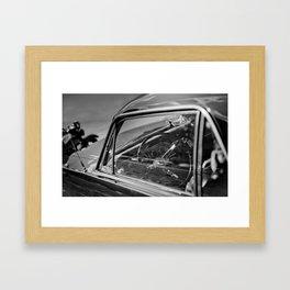 Car Cockpit 01 Framed Art Print