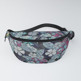 Leaves and flower Fanny Pack