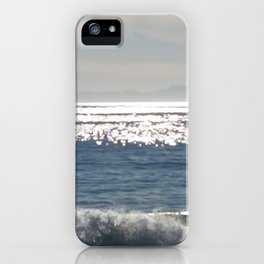 Low waves iPhone Case