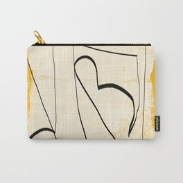 Abstract line art 4 Carry-All Pouch