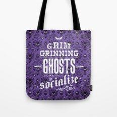 Haunted Mansion - Grim Grinning Ghosts Tote Bag