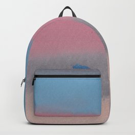 11 | 1903011 Watercolour Abstract Painting | Muted Colours Backpack