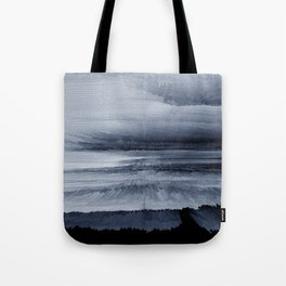 Abstract black painting 2 Tote Bag