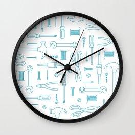 Tool Bag Wall Clock