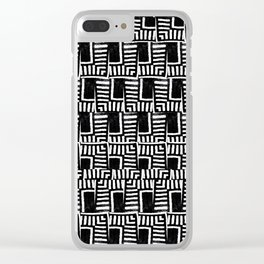 The New Yorker 1 Clear iPhone Case