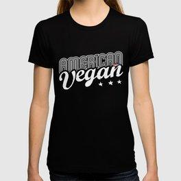 """""""American Vegan"""" T-shirt"""