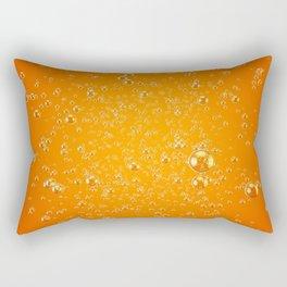 Orange Soda Rectangular Pillow