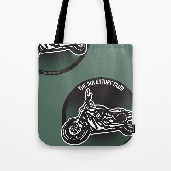 The Adventure Club Tote Bag