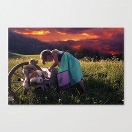 Sweet Sunset Canvas Print
