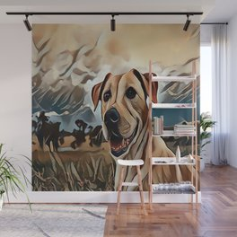 The Rhodesian Ridgeback Wall Mural