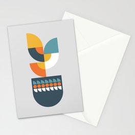 Geometric Plant 01 Stationery Cards