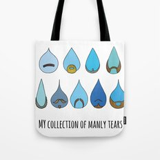 My Collection of Manly Tears Tote Bag