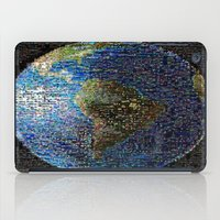earth iPad Cases featuring Earth  by 2sweet4words Designs