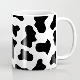 Moo Cow Print Coffee Mug