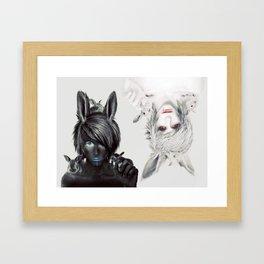 Cuniculus Framed Art Print