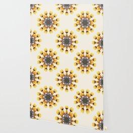 Tulips Mandala II Wallpaper