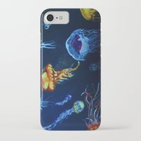 jelly fish iPhone & iPod Cases featuring Jelly-Jelly-Fish by Fknjedi1