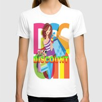 discount T-shirts featuring Creative Title : DISCOUNT by Don Kuing