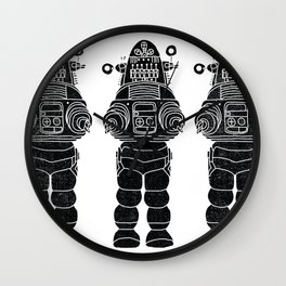 ROBBY THE ROBOT Wall Clock