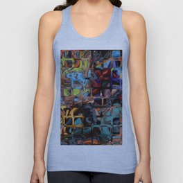 Colorful-42 Unisex Tank Top