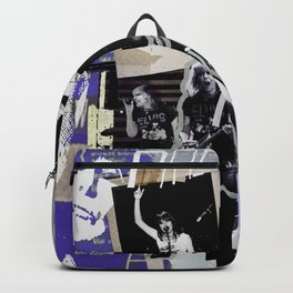 Pretenders collage Backpack