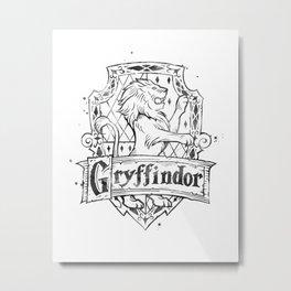 Gryffindor Metal Print