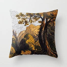 Summer in the Forest Throw Pillow