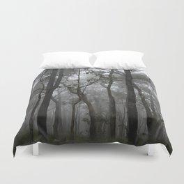 Misty Trees Duvet Cover