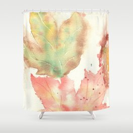 Fall Leaves 2016 Shower Curtain