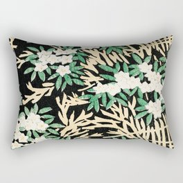Illustration of the vintage forest Rectangular Pillow