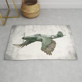 In which it's a bird. It's a plane. (Now in technicolour) Rug