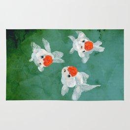 3 Goldfish Rug
