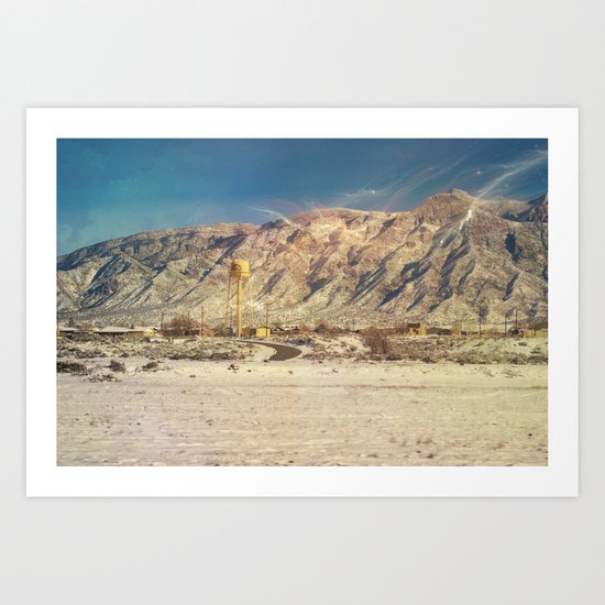 Land of Mañana - New Mexico Art Print