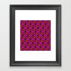 Rando Color 11 Framed Art Print