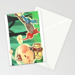 Pikmin Coffee Stationery Cards