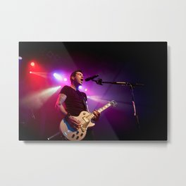 Tyler Connolly of Theory Of A Deadman - 3 Metal Print