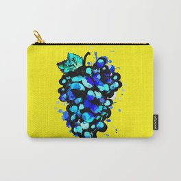 Colored Grape Carry-All Pouch