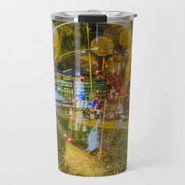 City at night Travel Mug