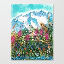 Alyeska Best of Both Canvas Print