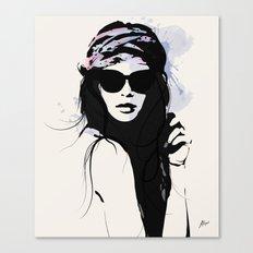 Infatuation - Digital Fashion Illustration Canvas Print