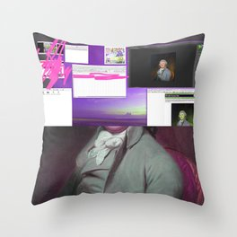 42. Wash in Town Throw Pillow